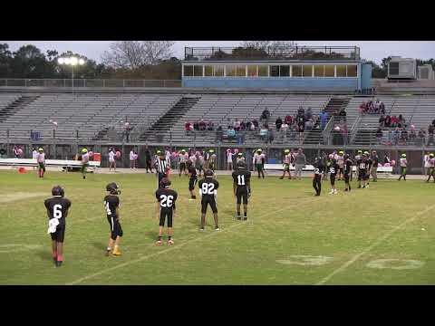 #80 Great Neck Middle School Stingrays Football