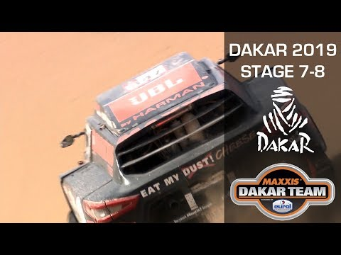 Dakar 2019 The Beast is performing well in the dunes with Tim and Tom Coronel