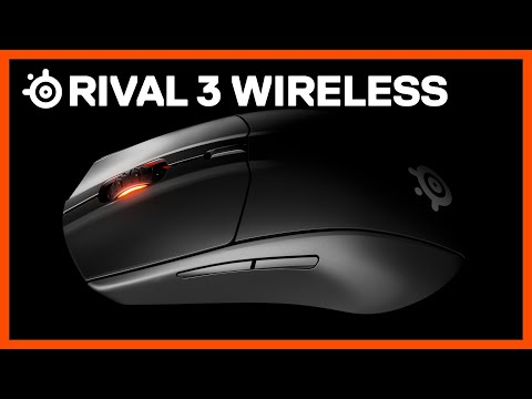 Rival 3 Wireless Gaming Mouse with 400-Hour Battery Life - SteelSeries