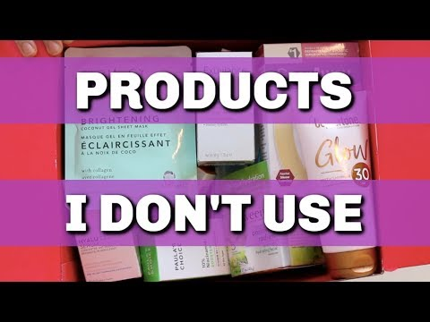 SKIN CARE PRODUCTS I DON'T USE| DR DRAY thumbnail