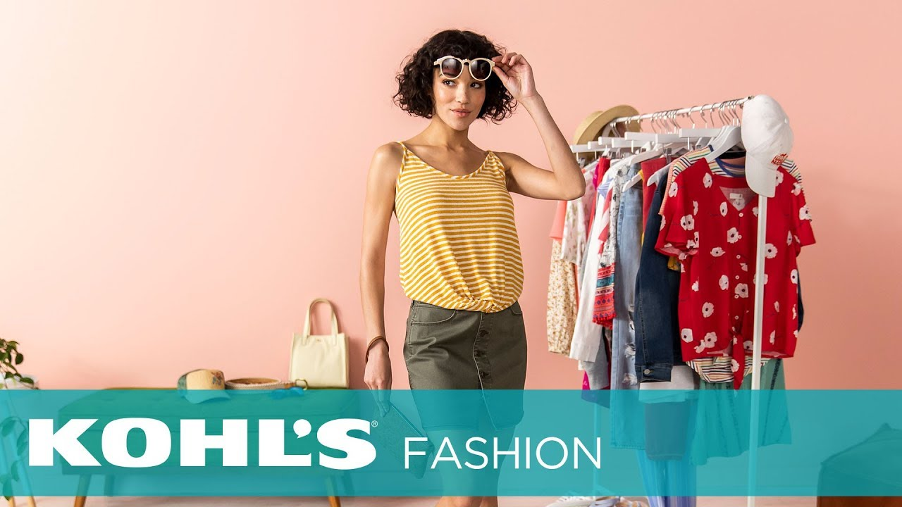 [VIDEO] - Spring Outfit Inspo | Kohl's 7