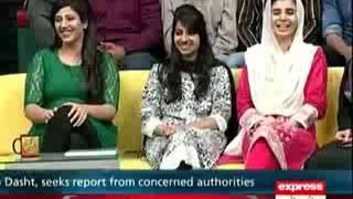 Pakistan Talk Shows Fight 2015 Khabardar   1st November 2015  Awaz Tv Official