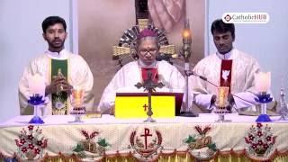 Arch Bishop of Hyd Most.Rev.Thumma Bala Pastoral Visit of Sacred Heart Church,Basuregadi.27-08-16.