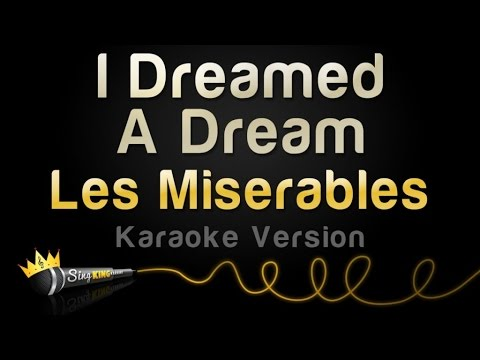 Les Miserables  I Dreamed A Dream Karaoke Version