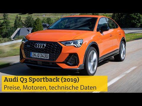 Audi Q3 Sportback (2019) – Preise, Motoren, Technische Daten | ADAC
