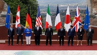 Trump Meets with G7 Leaders