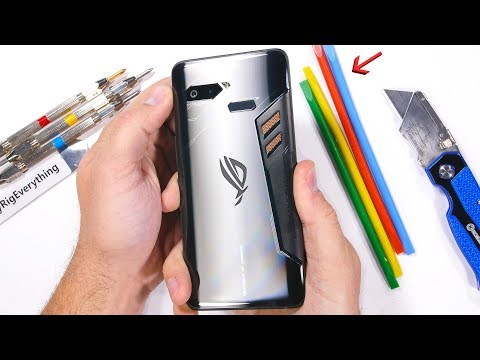 Asus ROG Gaming Phone - Durability Test!