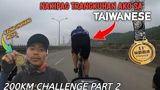 TAIWAN 200KM CYCLING CHALLENGE (PART 2)