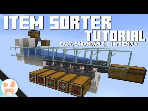 EASY ITEM SORTER TUTORIAL | Expandable, Stackable Items