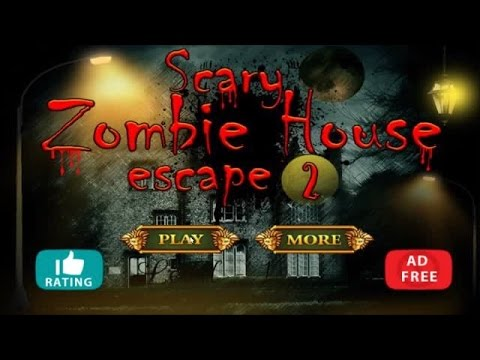 Scary zombie house escape 2 walkthrough first escape games for Minimalist house escape 2 walkthrough