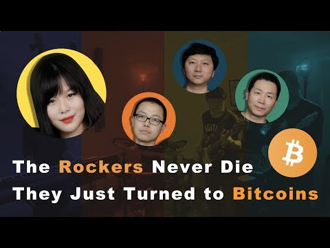 The Rockers Never Die, They Just Turned to Bitcoins.