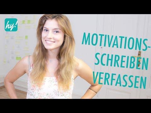 Motivationsschreiben Muster - Das musst du beachten!