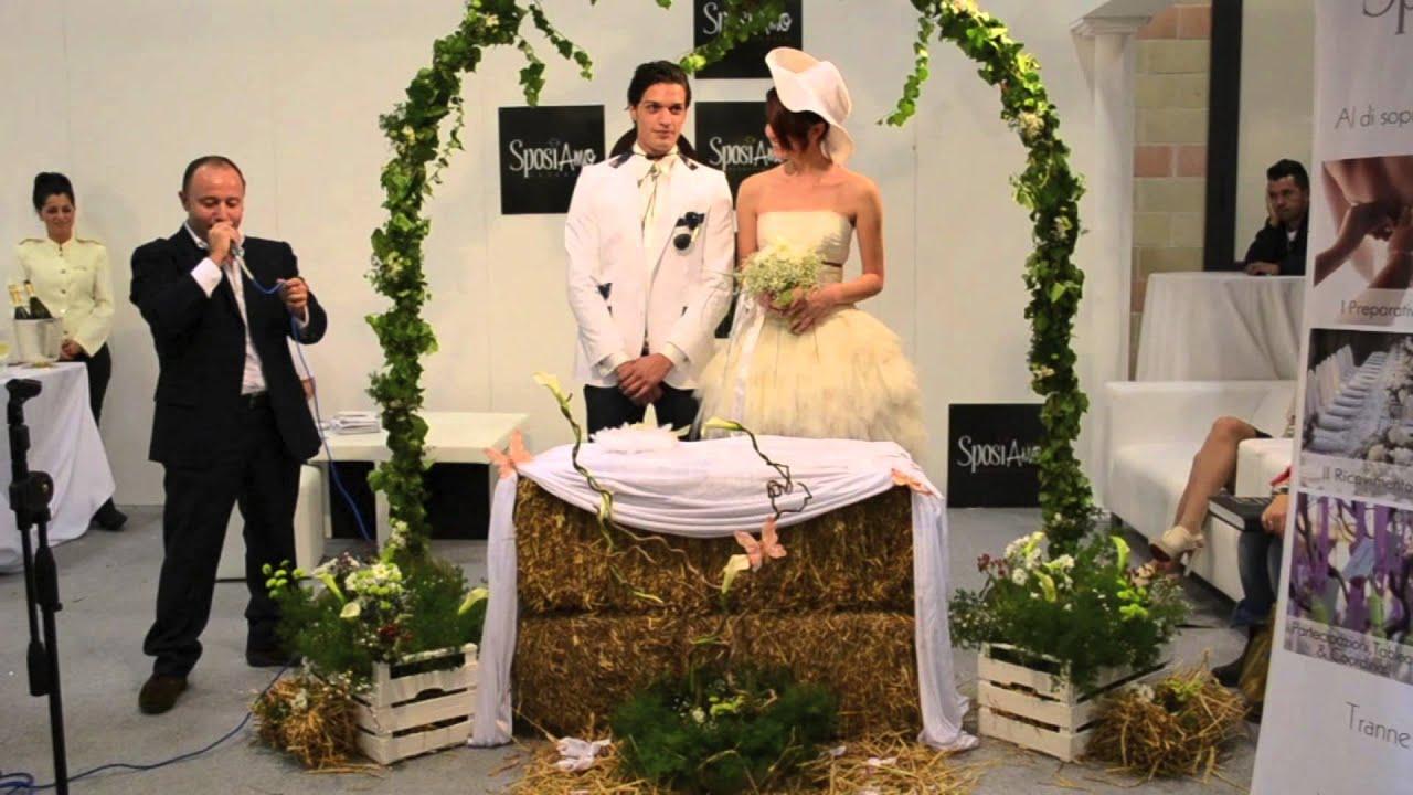 Amato Abito da Sposa Country Chic di Casa della Sposa per Nuova Fiera  YJ95