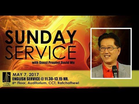 Prophet David Wu | 07 May 17 | Sun-EN