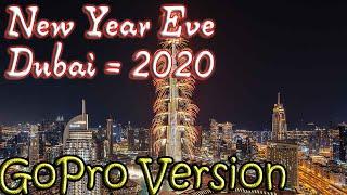Dubai nye celebration | Burj Khalifa Fireworks | New Year 2020 | Best New Year Celebration