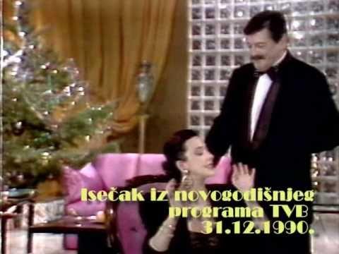 Novogodišnji program TV Beograd 1990