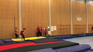 Testkonkurranser for landslag TeamGym Norge 2018