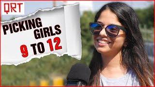 Asking Girls CHALTI HAI KYA 9 SE 12 | How To Spot a SINGLE GIRL ? | Hindi Comedy Video | QRT