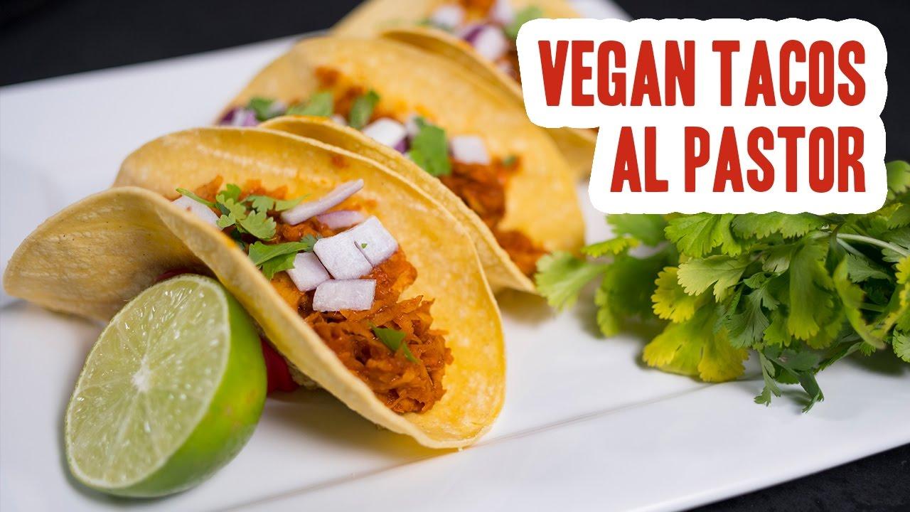 vegan tacos al pastor youtube. Black Bedroom Furniture Sets. Home Design Ideas