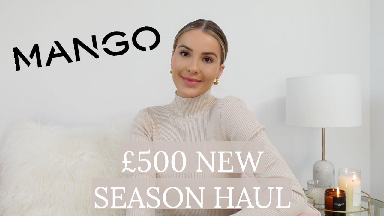 NEW SEASON MANGO HAUL | I SPENT £500 - WAS IT WORTH IT? | NADIA ANYA
