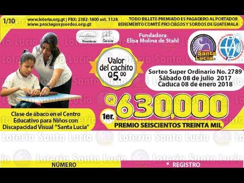 Sorteo Super Ordinario No. 2789