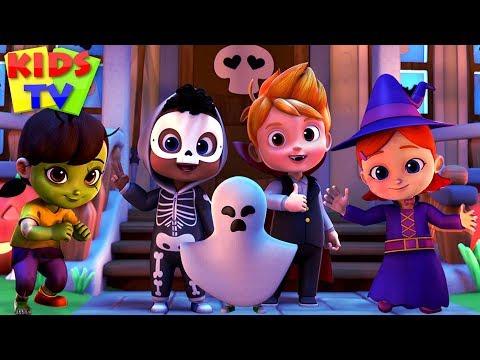 Happy Halloween Song | Halloween Music For Kids + More Nursery Rhymes