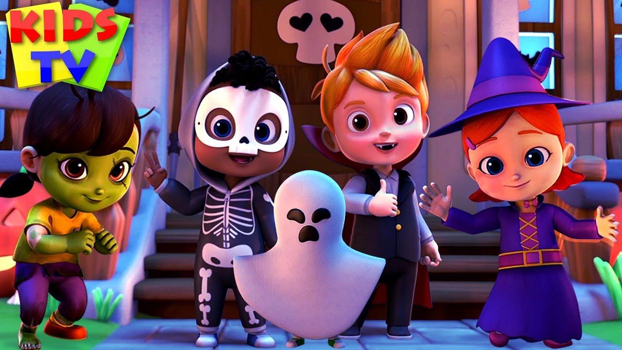 Happy Halloween Song Halloween Music For Kids More Nursery Rhymes Youtube