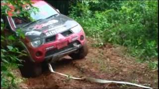 2010年8月、タイ王国で行なわれたアジアクロスカントリーラリー2010...