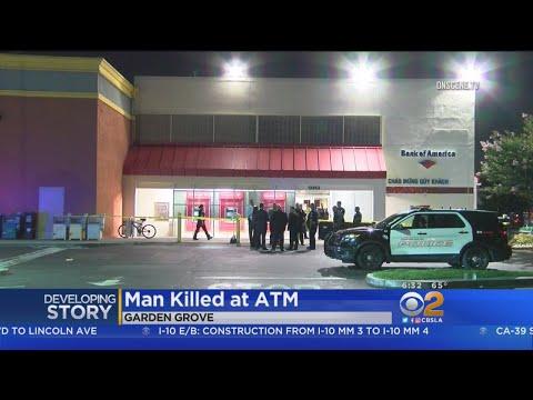 Man Fatally Shot In Front Of Garden Grove ATM