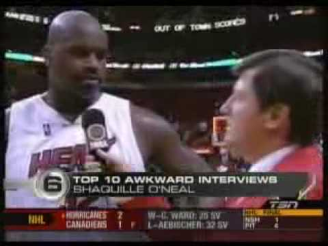 Top 10 Awkward Sports Interviews ESPN