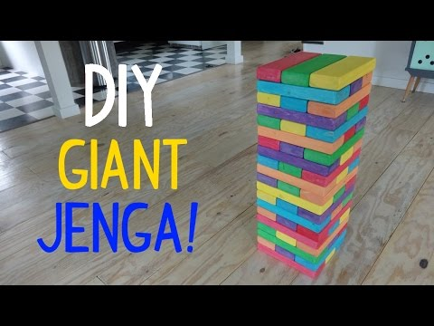 Diy Giant Jenga
