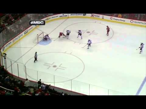 Martin Brodeur Scores Goal Against Hurricanes 3 21 13 Youtube