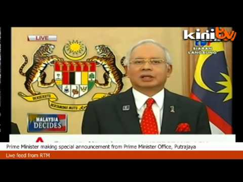 Finally, parliament is dissolved