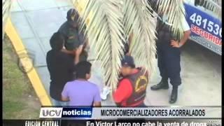 En Víctor Larco no cabe la venta de droga