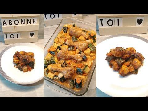 testez-cette-délicieuse-marinade-(-poulet-et-ses-légumes-au-four)👍