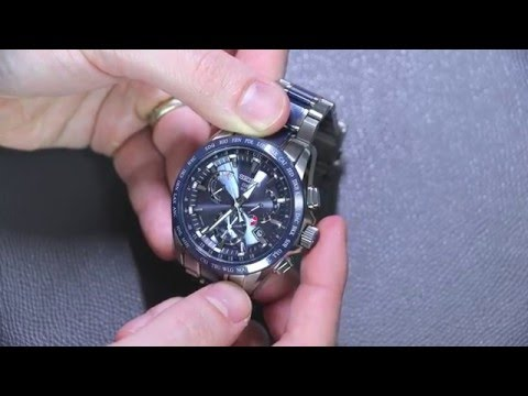 Seiko Astron GPS Solar Dual Time Watch Review | aBlogtoWatch