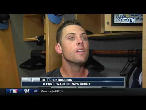 Peter Bourjos—New York Yankees at Tampa Bay Rays 4/4/17