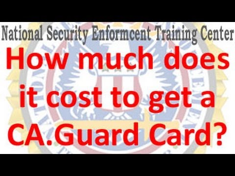 how much does it cost to get your hair styled how much does it cost to get a california guard card 4268