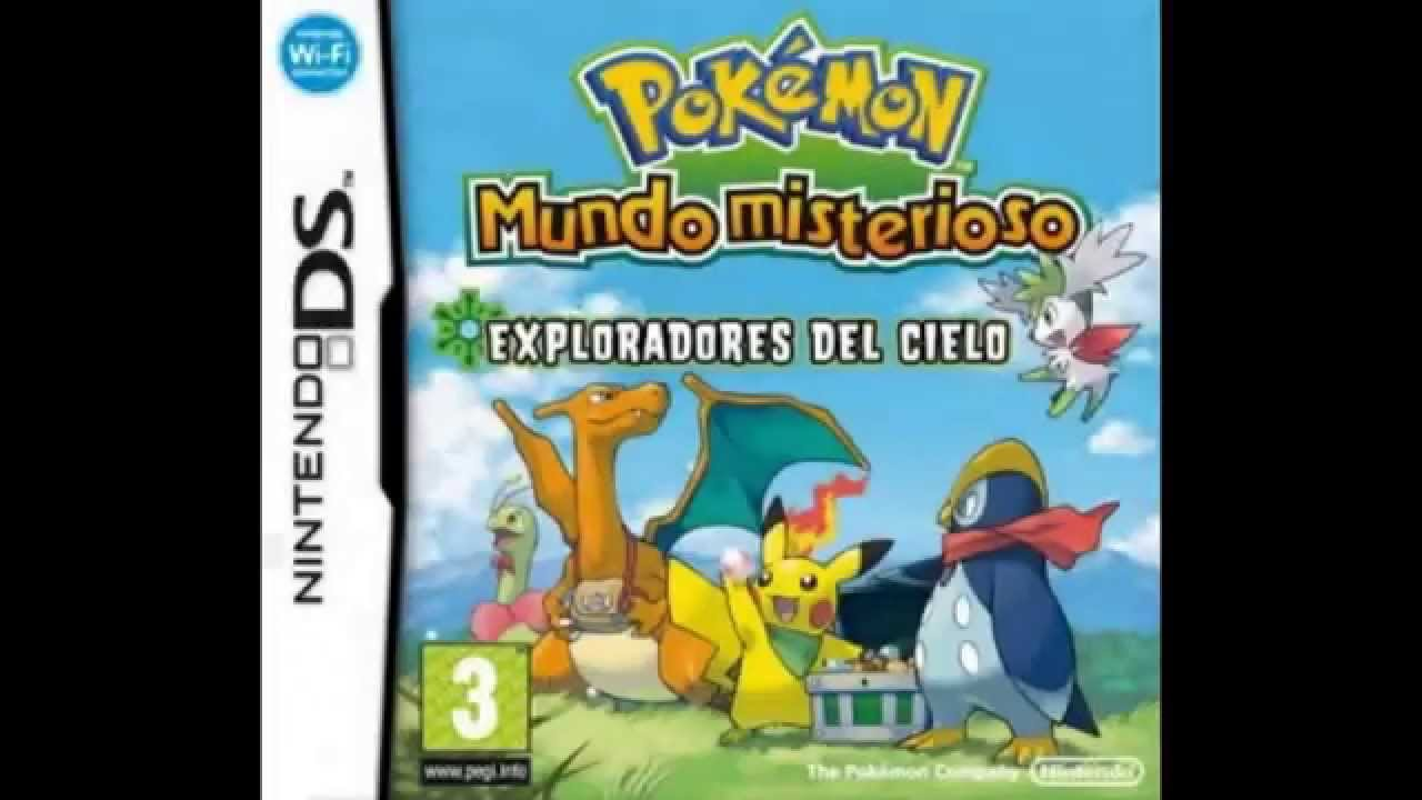 Pokémon mundo misterioso: esquipo de rescate azul nds español rom.