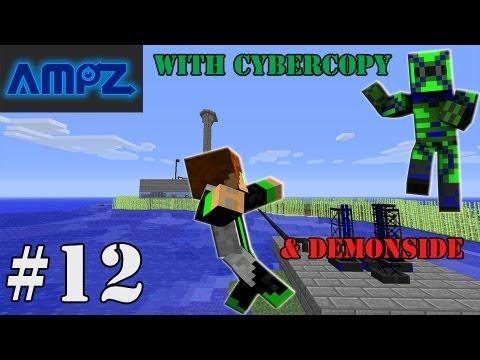 Minecraft AMPZ: Episode 12 - Refining Uranium For Nukes