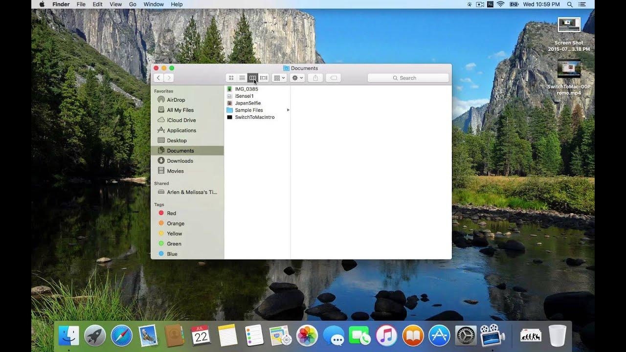 mac finder on windows 10