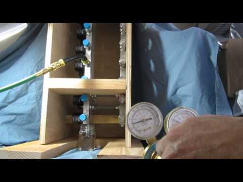 Backflow Test for Cryogenic Solenoid Valves.