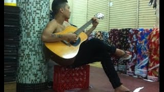Nhạc Chế Gõ Po và Guitar - Đồng Tiền Xương Máu + Cuộc Đời Đại Ka ( Ty Thái Tử Giã Từ Chơi Đàn )