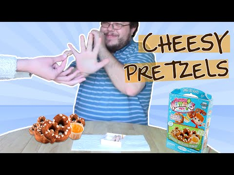 yummy nummy cheesy pretzels!