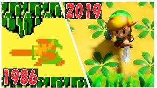 ゼルダの伝説 進化の歴史 【ゼルダの伝説 夢をみる島 2019 Switch までのシリーズ歴代作品ダイジェスト】 | Evolution of The Legend of Zelda
