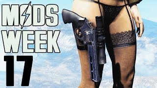 FALLOUT 4 MODS - WEEK 17 Gun Holsters, Crossbows, Outfit Switcher More