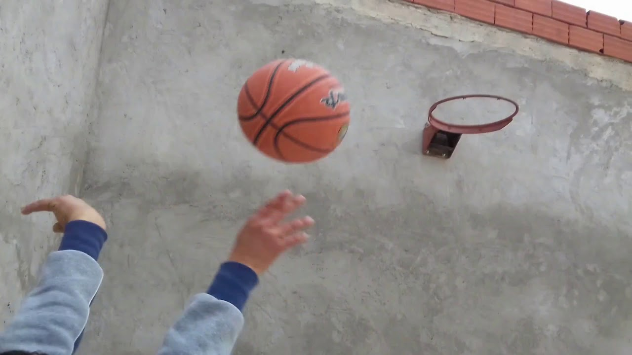 Basketball Trickt Shot Dude Perfect Tunisie Youtube