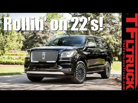 Rollin' on 22's! 2018 Lincoln Navigator Black Label Revealed