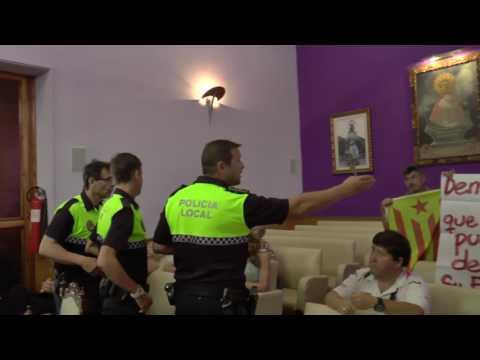 Intervención de Javier Ortega en el Pleno del Ayuntamiento de Jaén