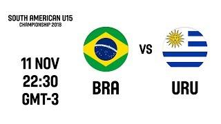 Brazil v Uruguay - South American U15 Championship